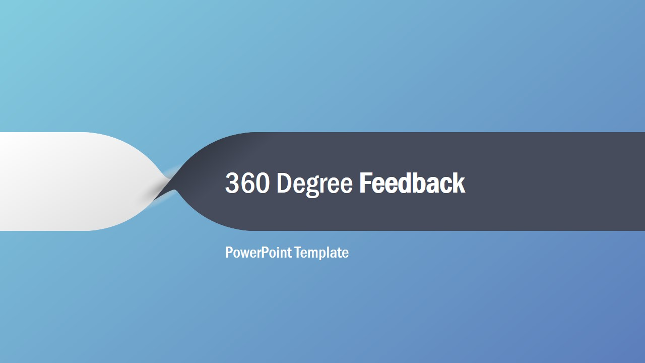 Cover Slide for 360 Degree Feedback