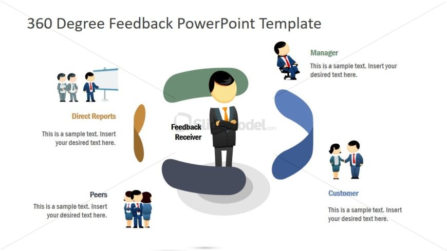 Clipart Icons for 360 Degree Feedback