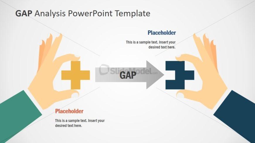 Slide of GAP Analysis Illustration