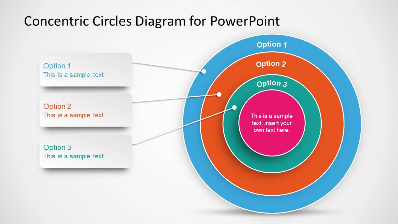 concentric circles diagram template for powerpoint   slidemodelonion diagram for powerpoint   concentric circles  small onion diagram for powerpoint