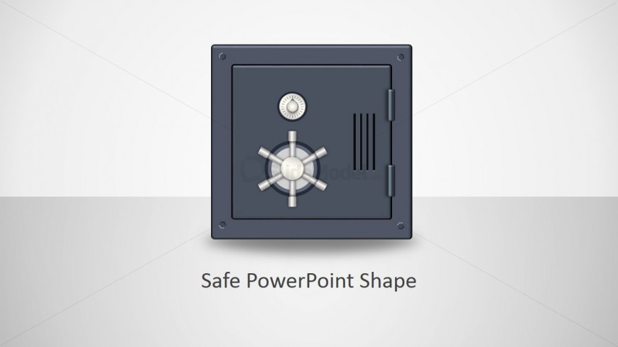 Animated Safe Clipart Illustration for PowerPoint