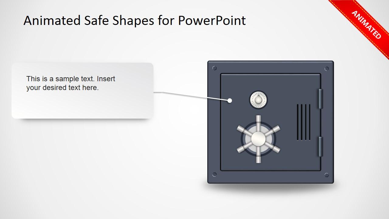 Animated Safe Clipart PPT Slide Design