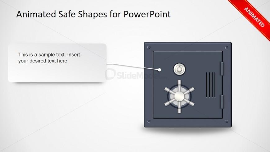 Animated Safe Wheel Clipart Slide Design