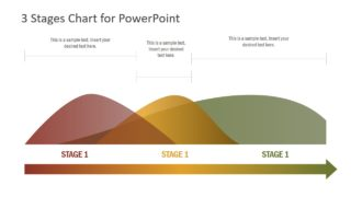 3 Stages Chart Concept for PowerPoint