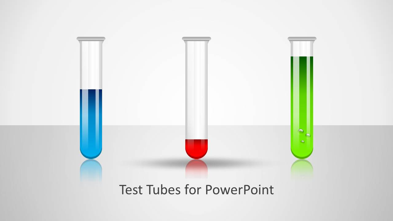 test tubes shape for powerpoint