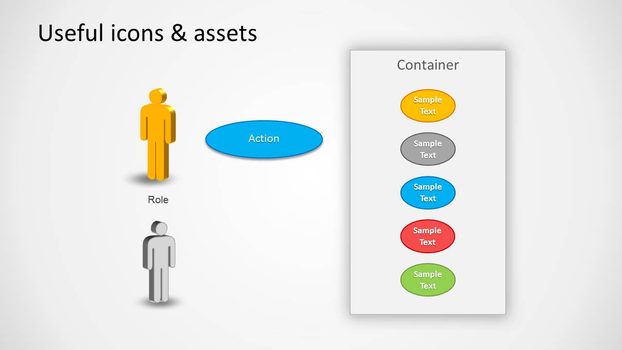 Use Case PowerPoint Diagram - SlideModel