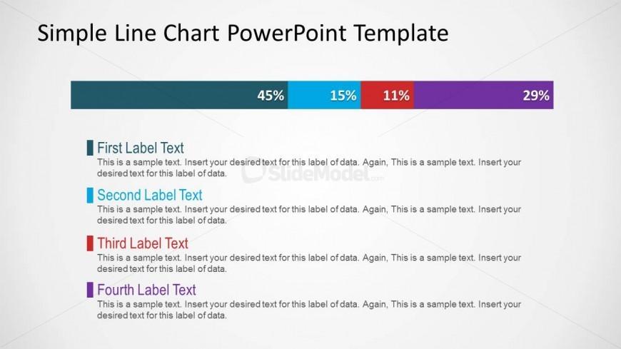 Simple Line Chart PowerPoint Slide Design