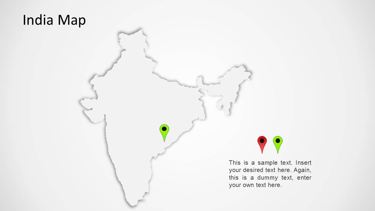 1175 india map wide 4 Top Result 60 New India Map Ppt Template Photography 2017 Gst3