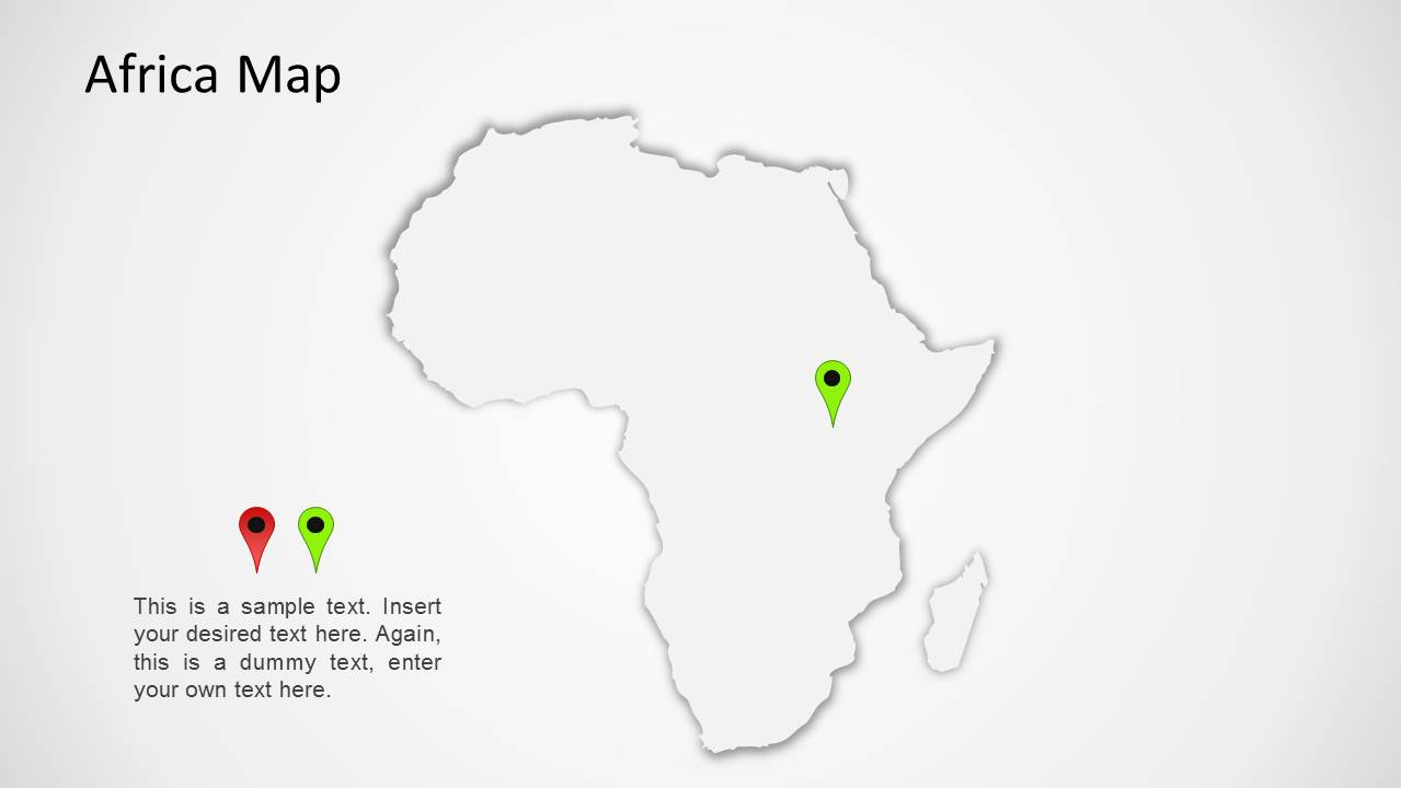 Africa Map for PowerPoint