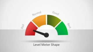 Level Meter Shape for PowerPoint