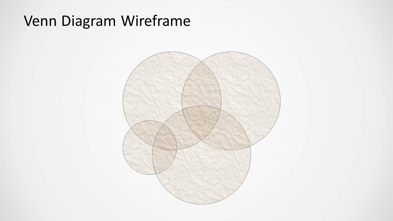 grunge venn diagram for powerpoint