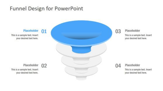 Funnel Diagram Template in PowerPont