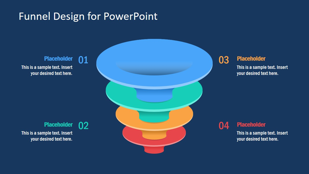 Business Funnel PowerPoint Slide