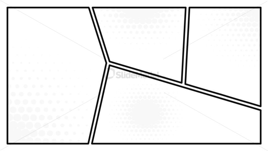 Black and White Comic Backgrounds