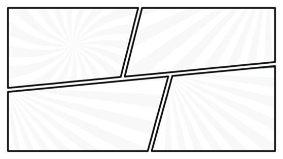 Presentation of Comic Contents Slide