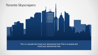 Silhouette Shapes for Toronto Skyline