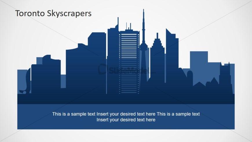 Silhouette Shapes for Toronto Skyline