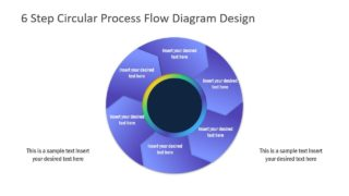 6 Step Circular Process Flow