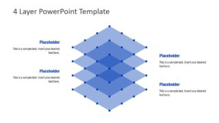 Simple 4 Layer PowerPoint Template