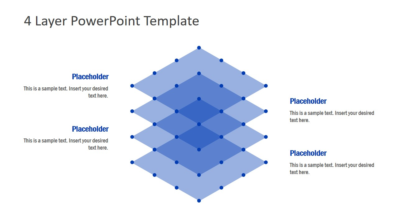 PowerPoint 4 Layer Simple Design