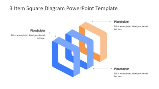 Presentation of 3 Items for Diagram