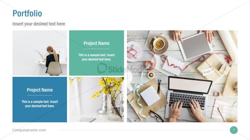 Flat PowerPoint for Business Presentations
