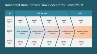 Slide of Horizontal PowerPoint Design