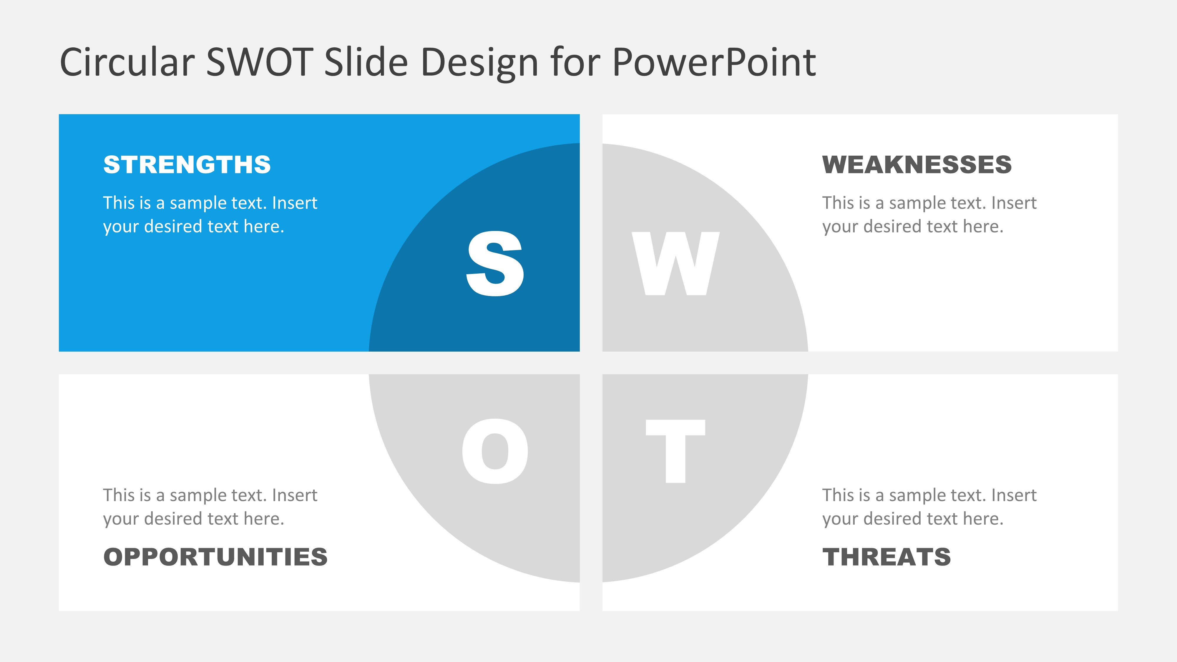 Strength Section SWOT Factors