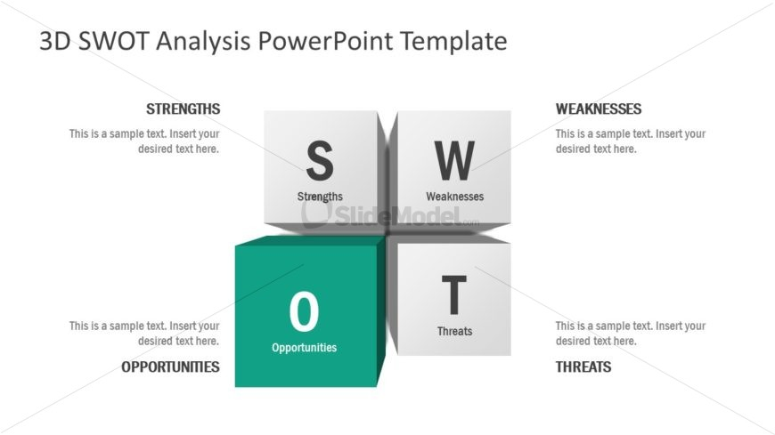 Opportunity Section 3D SWOT