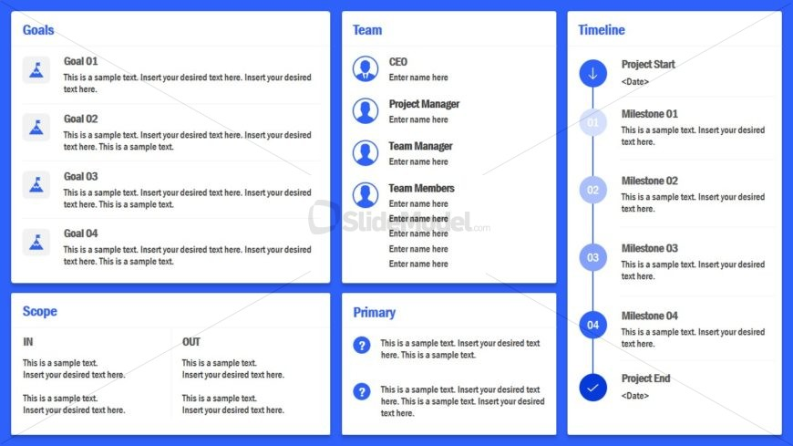 Project Charter Layout Template