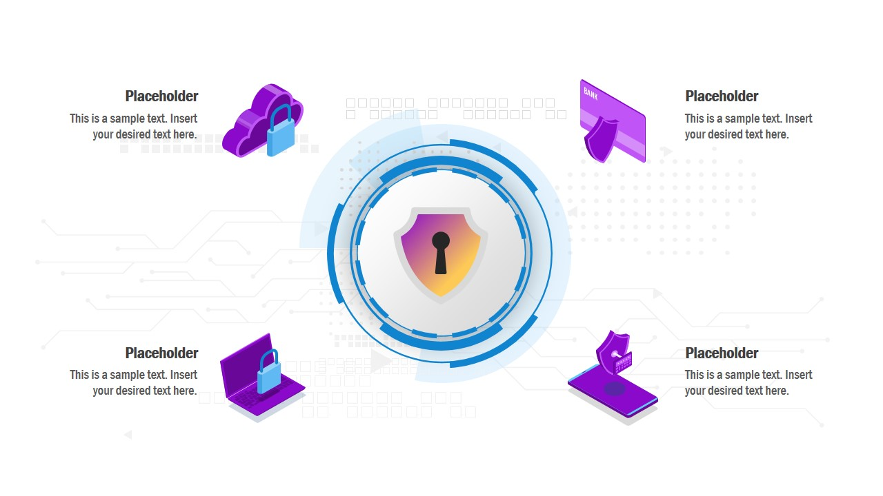 Slide of Cyber Technology Clipart