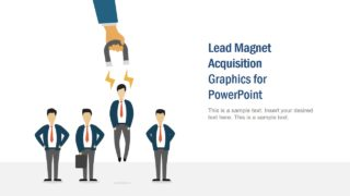 PPT Lead Magnet Cartoon Illustration