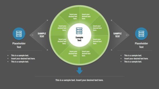 PowerPoint Circular 8 Steps Process