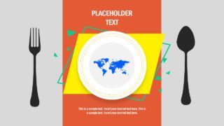 Global Hunger Diagram PowerPoint Template