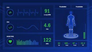 Slide of Health Monitoring Screen