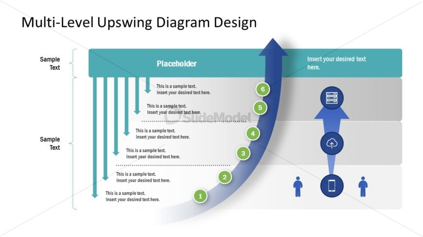 Upswing Arrow Diagram Timeline