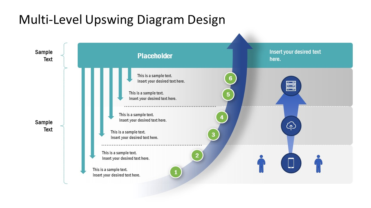 Upswing Arrow Diagram Timeline