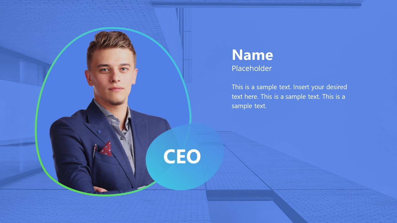 CEO Intro Template Background