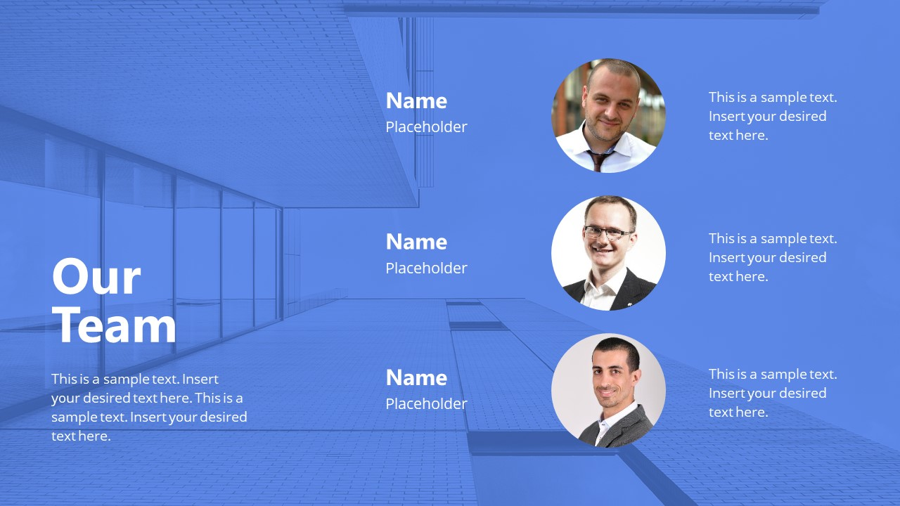 Presentation of Team Introduction