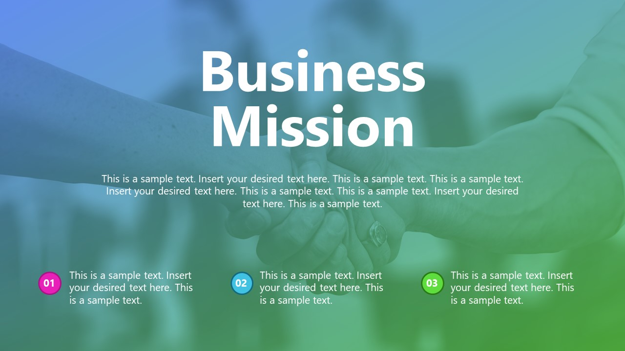Presentation of Company Vision Mission