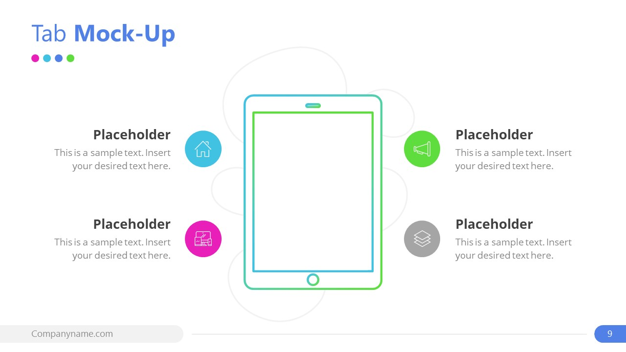 Mockup PowerPoint for Tab