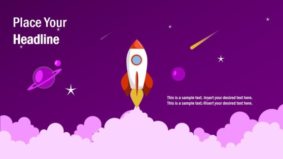 Flat Space Concept Design PPT