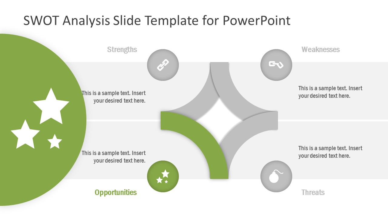 PowerPoint Diagram Template of Opportunities