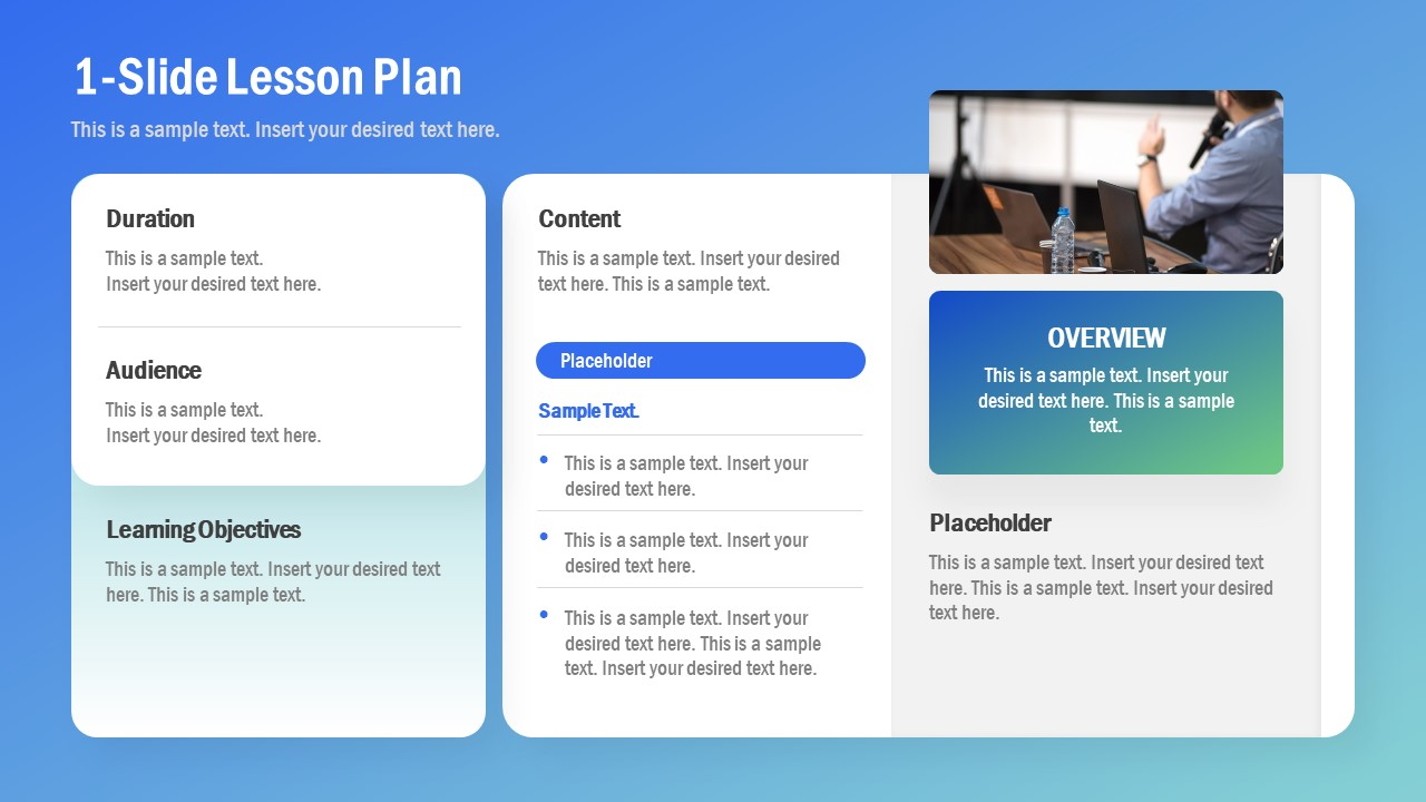 PPT Lesson Plan Learning Objectives
