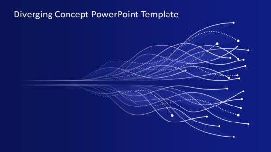 Diverging Concept Illuminating PowerPoint