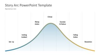 Narrative Arc PowerPoint Template