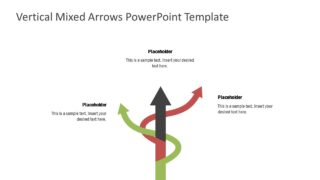 Mixed Arrow Shapes Business PowerPoint