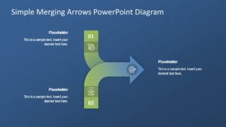 Presentation Template of Merging Arrows