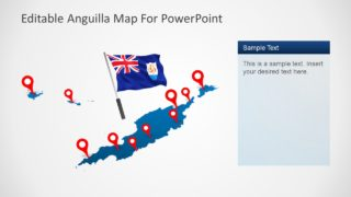 Editable PowerPoint Map Template