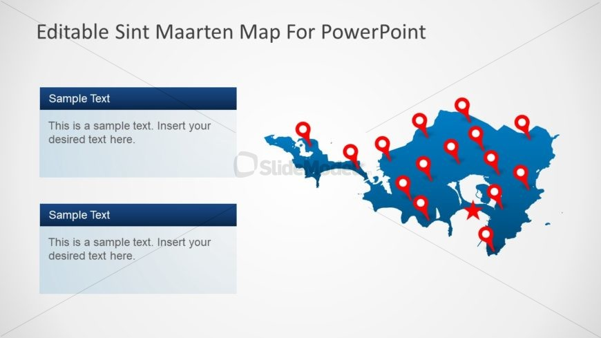 Business and Marketing Regional Map